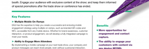 Trade Show Mobile Engagement Strategy