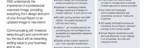 integrated investor communications